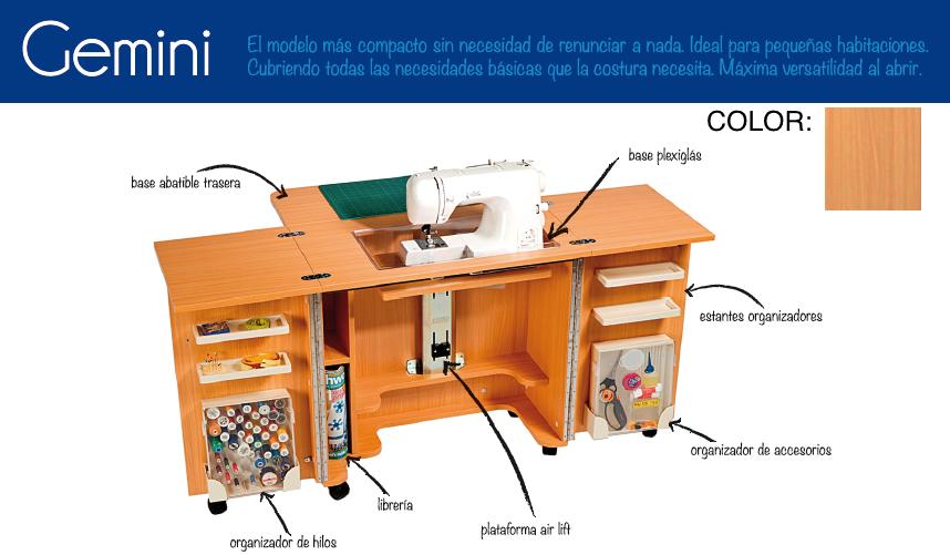 Mueble gemini la tienda del patch for Mueble costurero